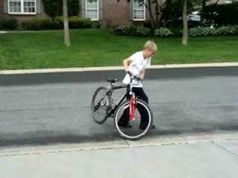 biking montage