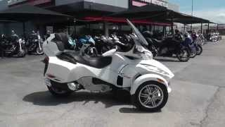 7. 001513 - 2012 Can Am Spyder RTS SE5 LIMITED - Used Motorcycle For Sale