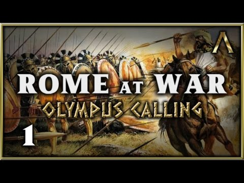 "Rome At War 2.5 - Olympus Calling - Pt.1 ""Answering Zeus' Call"" [Warband Mod]"