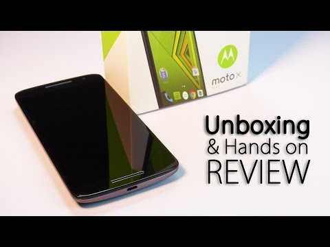 Motorola MOTO X PLAY Unboxing & Hands on Review -True Flagship Killer!