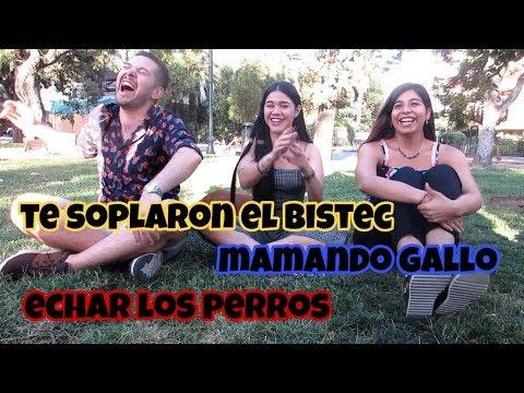 CHILENOS ADIVINAN PALABRAS Y FRASES VENEZOLANAS