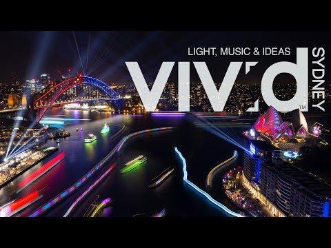 Vivid Sydney 2018 Timelapse