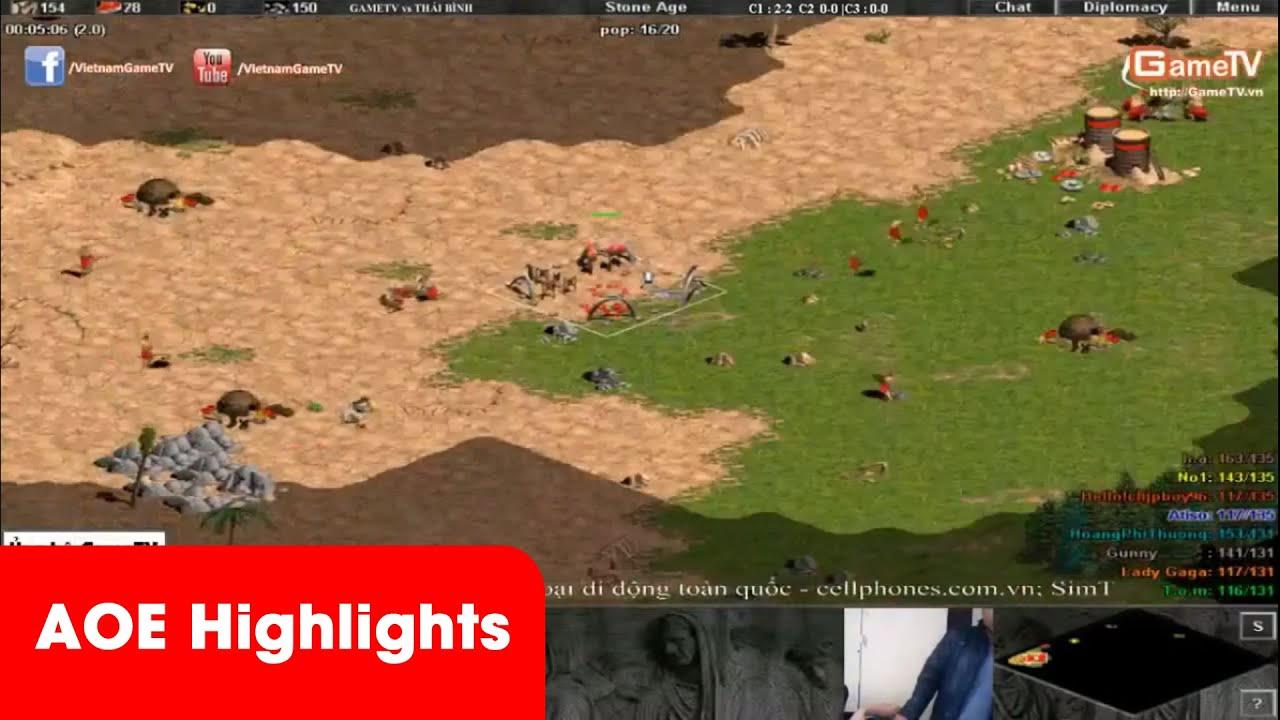 AOE Highlights | ChipBoy cầm per khiến cho các gamer Thái Bình cực kì nhức nhối.