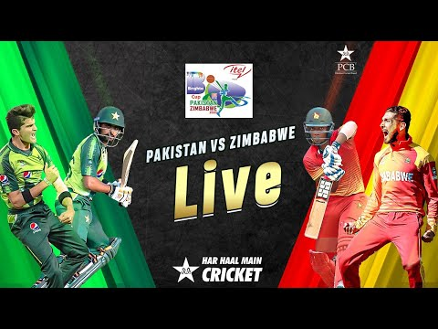 LIVE - Pakistan vs Zimbabwe | 2nd T20I 2020 | PCB