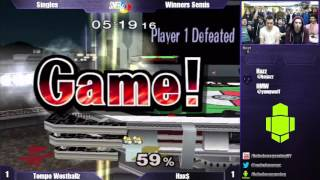 Super Nebulous 4 Winners Semis – Tempo Westballz (Falco) vs Hax$ (Fox)