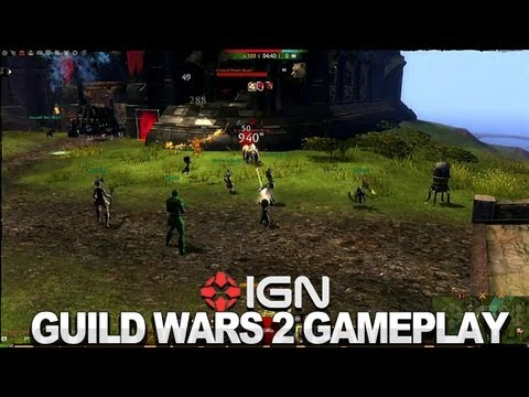 guild wars gameplay - Attempting to capture a structure in the open PvP mode in ArenaNet's MMO. Subscribe to IGN's channel for reviews, news, and all things gaming: http://www.you...