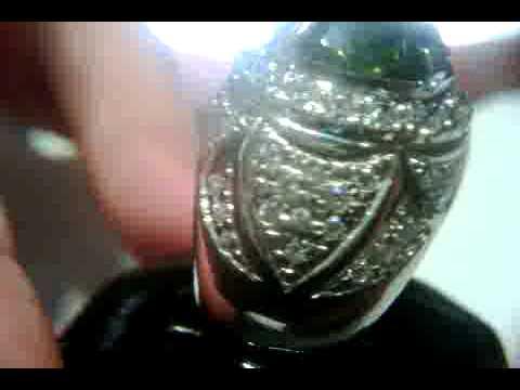 Peridot Ring With Great Luster Beautiful Gem