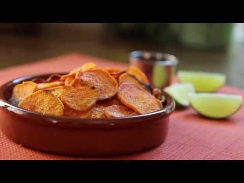 Healthy Snack Recipes – How to Make Spicy Sweet Potato Chips