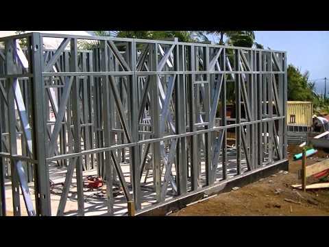 comment construire une maison ossature metallique