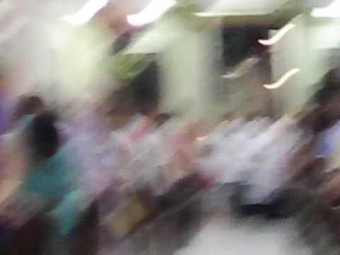 Terceira noite de trezena a Santo Antônio na igreja matriz em Barbalha