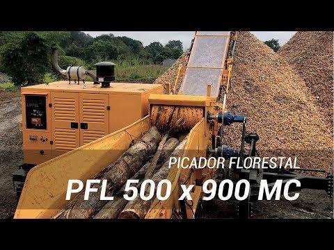 Picador Florestal Lippel RAPTOR 900 de alta performance