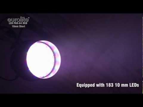 EUROLITE LED PAR-64 RGB 10mm Short