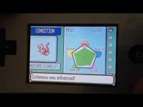 Pokémon: Perfect Contest Condition w/ Pokéblocks in Gen 3 (Ruby/Sapphire)