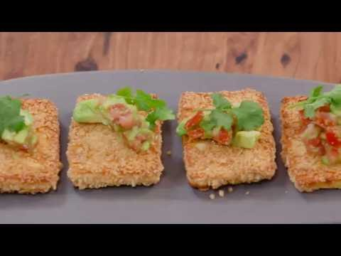 Mission Corn Chip Crumbed Haloumi | Everyday Gourmet S6 E75