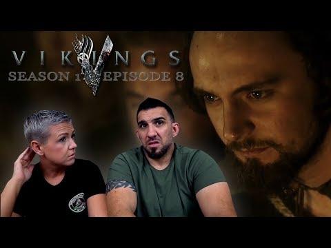 Vikings Season 1 Episode 8 'Sacrifice' REACTION!!