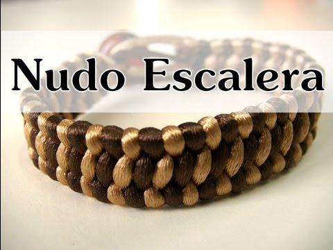 Manualidades DIY - Pulsera con Nudo Escalera