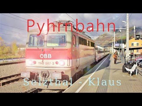 Führerstandsmitfahrt Pyhrnbahn Selzthal - Klaus [HD] - Cab Ride ÖBB 1142