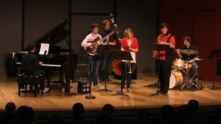 Holly Hofmann Ensemble - UC San Diego Jazz Camp 2012