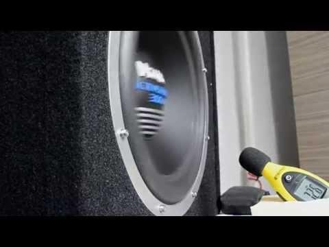 Magnat Active Reflex 300A car subwoofer bass test - Home (видео)