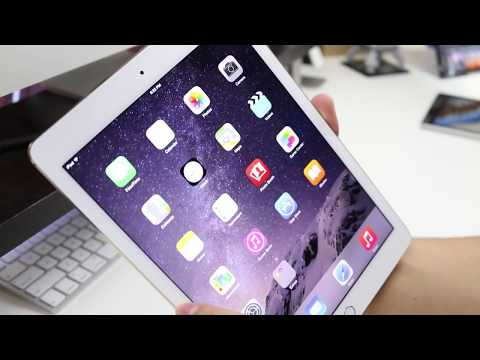 Gold iPad Air 2 Unboxing, Hands On