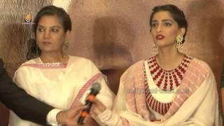 NEERJA (2016) Super HIT Movie - Sonam Kapoor - Shabana Azmi - Press Conference With Team !!!