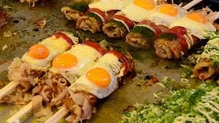Video Street Food Japan - A Taste of Delicious Japanese Cuisine MP3, 3GP, MP4, WEBM, AVI, FLV Januari 2019