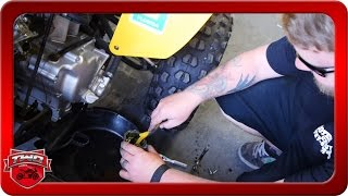 9. 2011 Can Am DS250 How To Clean Out Carb