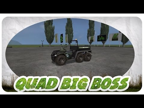 Polaris Quad 6X6 BigBoss v1.1 Fixed