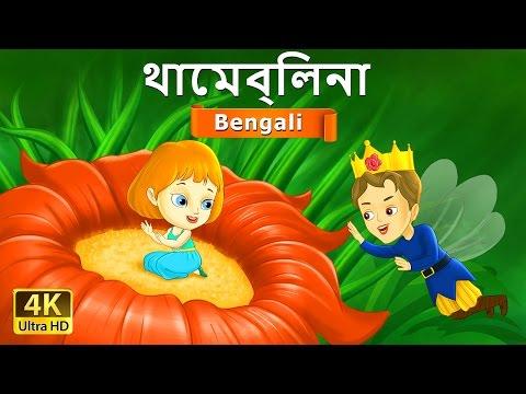 থাম্বেলিনা   Thumbelina in Bengali   Bangla Cartoon   Bengali Fairy Tales