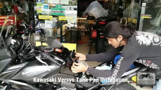 9. Kawasaki Versys 650 || Accessories Installation