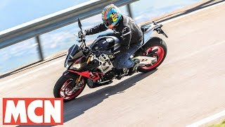 2. 2019 Aprilia Tuono V4 1100 Factory review   MCN   Motorcyclenews.com