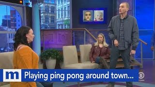 You were playing ping pong around town…Without balls! | The Maury Show