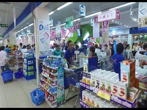 Các kênh bán lẻ hiện đại tiếp sức cho hàng Việt Nam