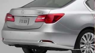 2014 Acura RLX Interiors And Exteriors