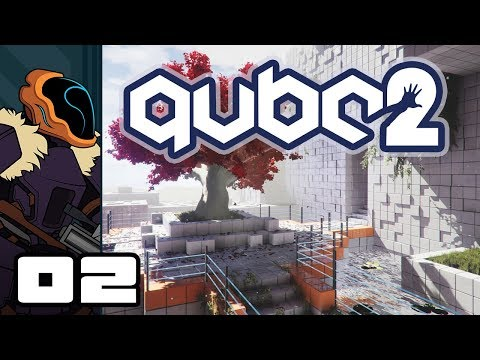 Let's Play Q.U.B.E. 2 - PC Gameplay Part 2 - The Cookie Conundrum