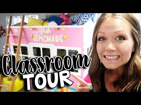 CLASSROOM TOUR | Teacher Vlog