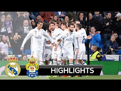 [HD] Real Madrid vs Las Palmas 3-3 All goals and Highlights | La liga 01.03.2017