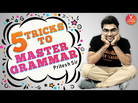 5 Tricks to Master Grammar by Pritesh Sir  | English Grammar | Learn Grammar@Vedantu Young Wonders