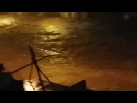Tereza Cristina alaga durante temporal em BH