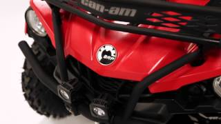 6. Bumpers and Rack Extension for Can-Am Outlander L ATVs