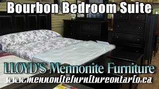 Mennonite Bourbon Bedroom Suite