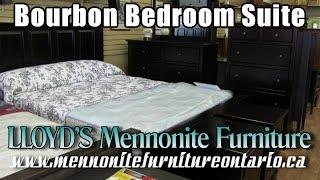 Mennonite Bourbon Bedroom Suite