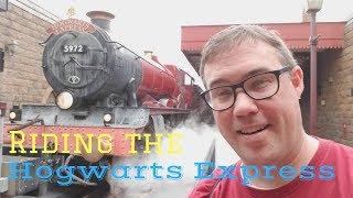 Riding the Hogwarts Express at Universal Orlando Resort