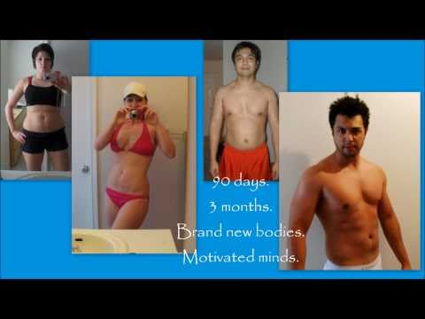 Couple Completes P90X Together! Amazing Results!