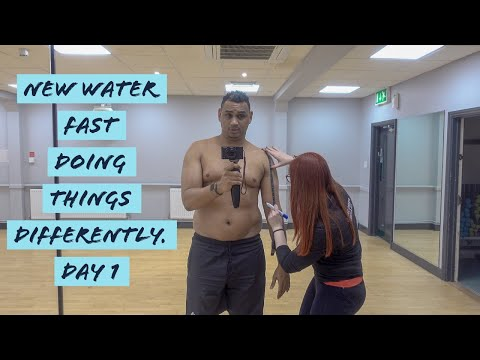 New Water Fast! Doing Things Differently! - Vlog, Day 1