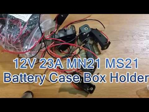 12V 23A MN21 MS21 Battery Holder Case from Banggood
