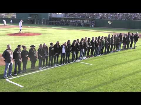 Cal Poly Women's Soccer Team 2014 Championship Ring Ceremony