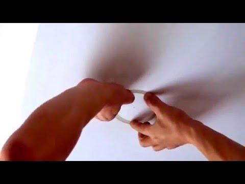 Как сделать отверстие в натяжных потолках 497