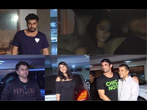 Arjun Kapoor | Shraddha Kapoor | Mohit Suri At Chetan Bhagat Birthday Party