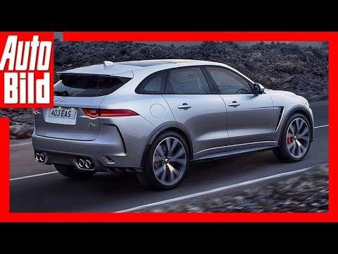 Jaguar F-Pace SVR (2018) Details / Erklärung